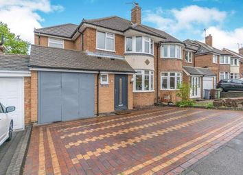 Thumbnail 4 bedroom semi-detached house for sale in Bramcote Drive, Solihull, West Midlands, .