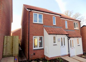 Thumbnail 2 bed semi-detached house to rent in Morgan Sweet, Cranbrook, Exeter
