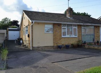 Thumbnail 2 bedroom semi-detached bungalow for sale in Woodcote Avenue, Parklands, Northampton