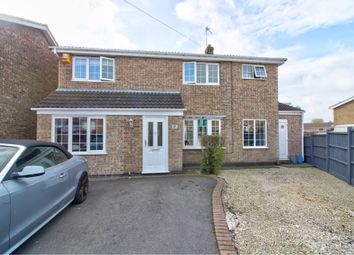 Thumbnail 4 bed detached house for sale in Romans Crescent, Coalville