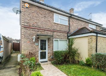 Thumbnail 2 bed end terrace house for sale in Fold Croft, Harlow