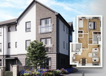Thumbnail 2 bedroom flat for sale in Glasgow Road, St Ninians, Stirling