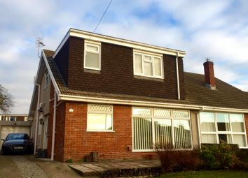 Thumbnail 4 bed semi-detached house for sale in West Park Drive, Nottage, Porthcawl