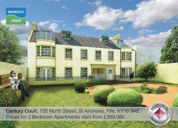 Thumbnail 2 bed flat for sale in Century Court, 100, North Street, St Andrews, Fife