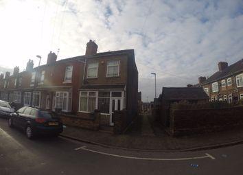 Thumbnail 3 bed end terrace house to rent in Gordon Street, Burslem, Stoke-On-Trent