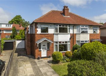 Thumbnail 3 bed semi-detached house for sale in Stainburn Drive, Leeds, West Yorkshire