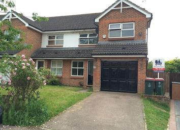 Thumbnail 3 bed semi-detached house to rent in Bosham Road, Maidenbower, Crawley, West Sussex