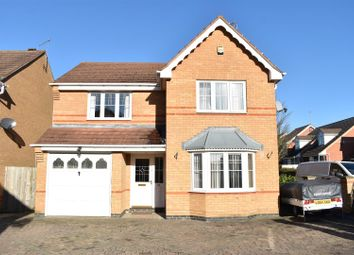 Thumbnail 4 bedroom detached house for sale in Riverstone Way, Northampton