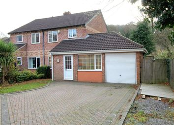 Thumbnail 4 bed semi-detached house for sale in Canterbury Drive, Whitleigh, Plymouth