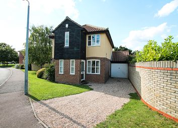 Thumbnail 4 bed detached house for sale in Holkham Mead, Burwell