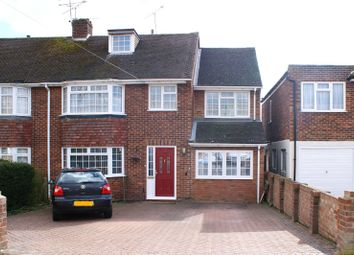 Thumbnail 5 bed semi-detached house for sale in Glendevon Road, Woodley, Reading, Berkshire