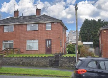 Thumbnail 3 bed semi-detached house for sale in Fairview Road, Llangyfelach, Swansea