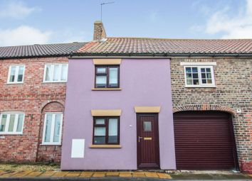 Thumbnail 2 bed terraced house for sale in Sherburn Street, Cawood