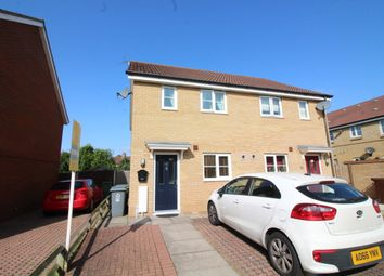 Thumbnail 2 bed semi-detached house for sale in Mountbatten Drive, Old Catton, Norwich