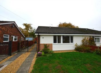 Thumbnail 2 bed bungalow to rent in Bollin Close, Winsford