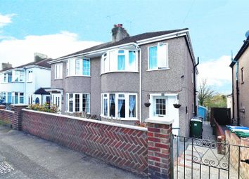 Thumbnail 3 bed semi-detached house for sale in Barnes Cray Road, Crayford, Dartford