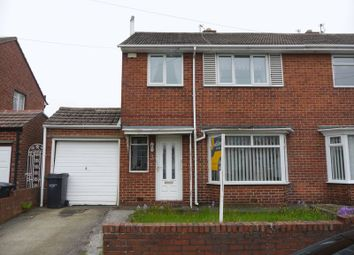 Thumbnail 3 bedroom semi-detached house for sale in Moorland Drive, Bedlington