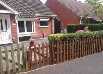 Thumbnail 2 bed bungalow to rent in Mayflower Close, Markfield