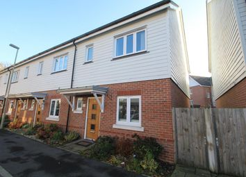 Thumbnail 3 bed end terrace house to rent in Willowbourne, Fleet