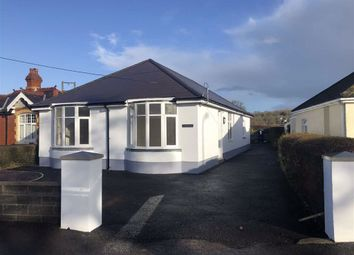 Thumbnail 3 bed detached bungalow for sale in Porthyrhyd, Carmarthen