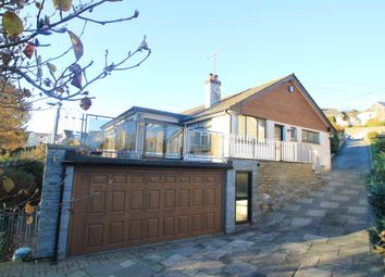 Thumbnail 4 bedroom detached bungalow for sale in Valley Road, Saltash