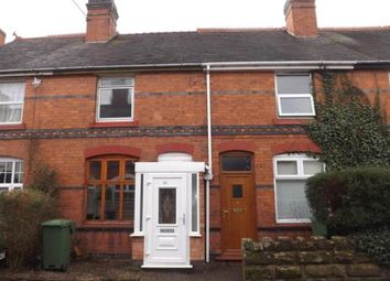 Thumbnail 2 bed terraced house for sale in Churchfields Road, Sidemoor, Bromsgrove, Worcs