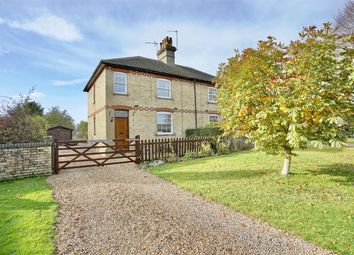 Thumbnail 3 bed semi-detached house for sale in The Avenue, Leighton Bromswold, Huntingdon