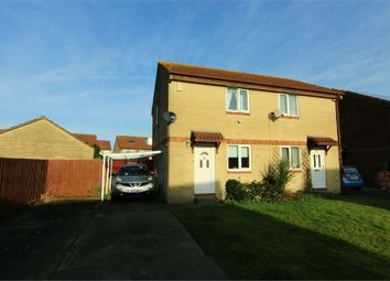 Thumbnail 2 bed semi-detached house for sale in Roebuck Close, Weston-Super-Mare