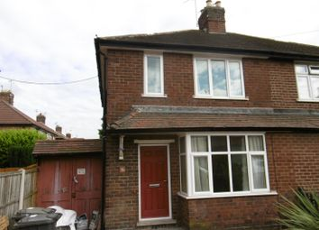 Thumbnail 3 bedroom semi-detached house to rent in Lilac Grove, Beeston