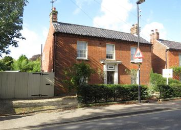 Thumbnail 3 bedroom detached house for sale in Wells Road, Fakenham