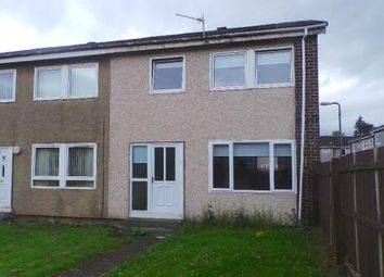 Thumbnail 3 bed end terrace house for sale in Shiel Place, Coatbridge