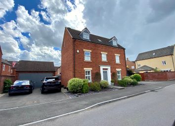 Thumbnail 5 bed detached house for sale in Chivenor Way Kingsway, Quedgeley, Gloucester