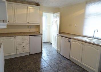 Thumbnail 3 bed terraced house to rent in Aeron Terrace, Twynyrodyn