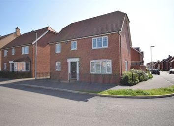 Thumbnail 4 bed detached house for sale in Maxwell Crescent, Duston, Northampton