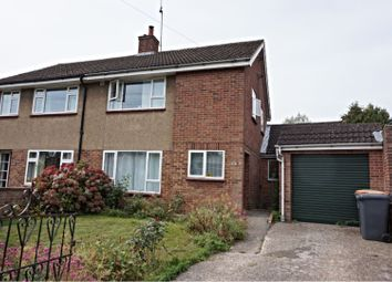 Thumbnail 3 bed semi-detached house to rent in Queens Crescent, Bedford