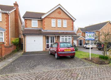 Thumbnail 4 bedroom detached house for sale in Wykeham Close, Gravesend