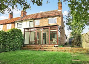 Thumbnail 3 bed end terrace house for sale in The Square, Leasingham, Sleaford