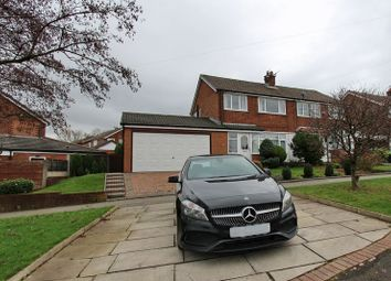 Thumbnail 3 bed semi-detached house for sale in Melton Drive, Hollins, Bury