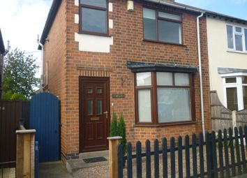Thumbnail 2 bed semi-detached house to rent in Myrtle Avenue, Stapleford, Nottingham