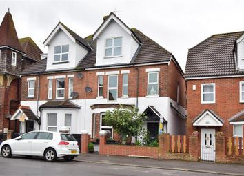 Thumbnail 5 bed semi-detached house for sale in Cheriton Road, Folkestone, Kent