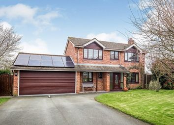 Thumbnail 4 bed detached house for sale in 17 Rhewl Lane, Rhewl, Gobowen, Oswestry, Shropshire