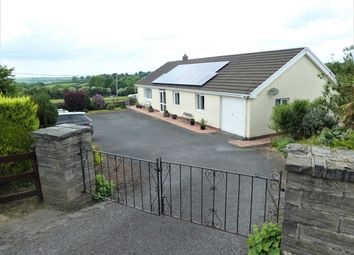 Thumbnail 3 bed detached bungalow for sale in Cilcennin, Nr Aberaeron