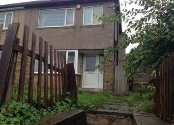 Thumbnail 3 bedroom semi-detached house to rent in Chellow Grange Road, Bradford 9