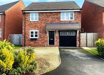 Thumbnail 4 bed detached house to rent in Hawthorn Close, Rugby