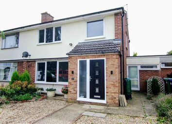 Thumbnail 3 bed semi-detached house for sale in Roman Way, Perry, Huntingdon
