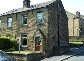 Thumbnail 4 bed semi-detached house for sale in Wood Street, Longwood, Huddersfield