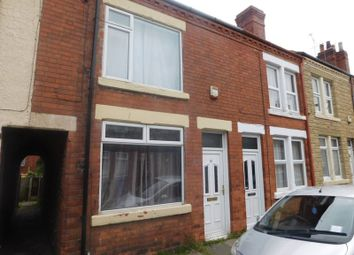 Thumbnail 2 bed terraced house to rent in Thoresby Street, Mansfield