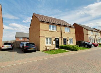 Thumbnail 2 bed semi-detached house to rent in Rathbone Crescent, Peterborough