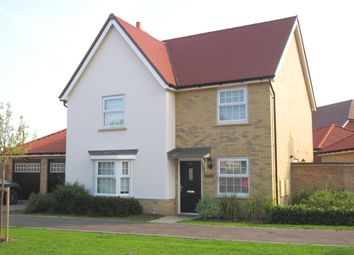 Thumbnail 4 bed detached house to rent in Christmas Tree Crescent, Hawkwell, Hockley