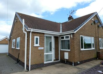 Thumbnail 2 bed bungalow for sale in Station Road, Burstwick, Hull